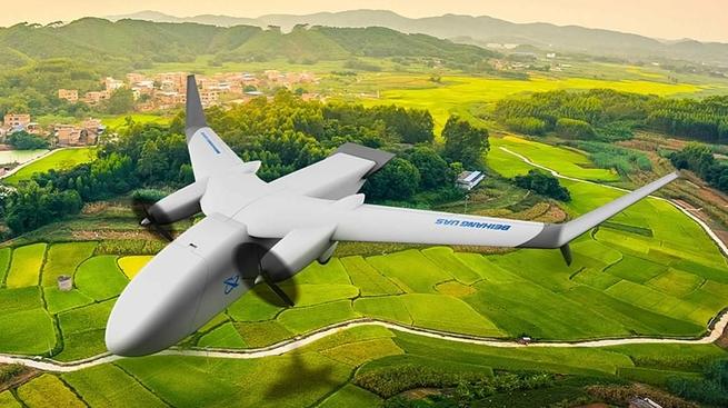 грузовой дрон Beihang